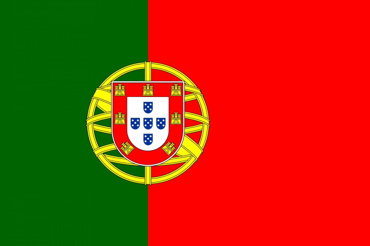 Flag of portugal svg